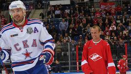 Денис Глушаков на льду. Против Ковальчука