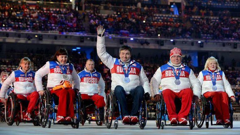 Российские паралимпийцы смогут выступить на Играх в Пхенчхане только под нейтральным флагом. Фото AFP