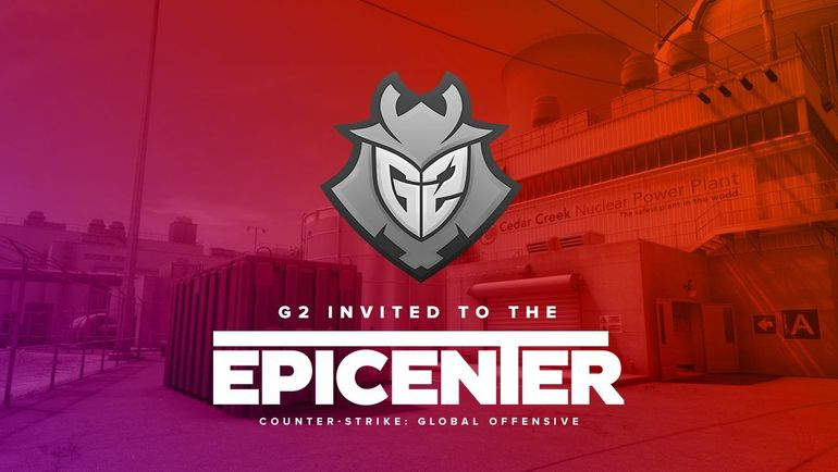 G2 пригласили на EPICENTER. Фото EPICENTER