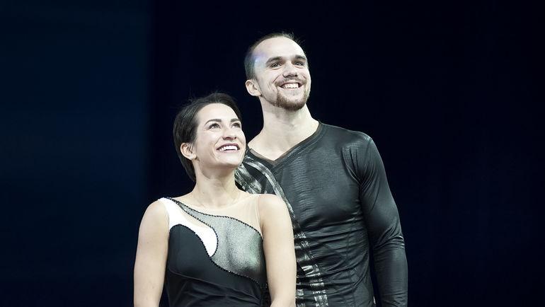 Ксения СТОЛБОВА (слева) и Федор КЛИМОВ. Фото Ксения НУРТДИНОВА