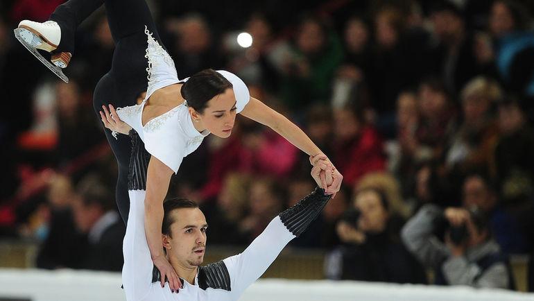 Ксения СТОЛБОВА и Федор КЛИМОВ. Фото Антон СЕРГИЕНКО