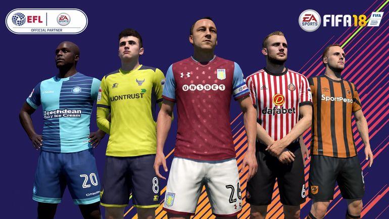 EA Sports и EFL заключили партнерское соглашение. Фото twitter.com/EASPORTSFIFA