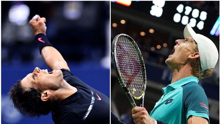 В финале US Open сыграют Рафаэль НАДАЛЬ (слева) и Кевин АНДЕРСОН. Фото AFP