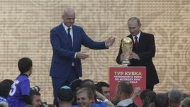 Владимир Путин дал старт туру Кубка мира