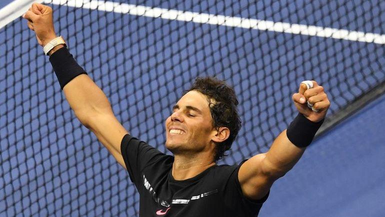 Надаль иАндерсон сыграют вфиналеUS Open