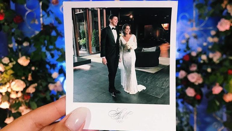 Свадьба Александра Сухорукова и Маргариты Мамун. Фото instagram.com/ritamamun/