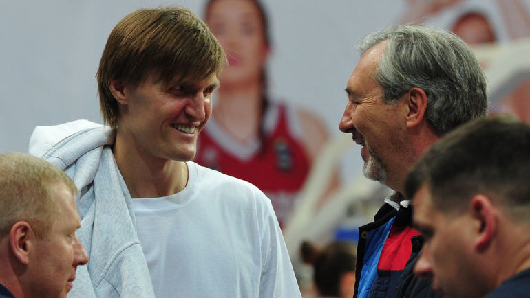 Андрей КИРИЛЕНКО (слева) и Сергей ТАРАКАНОВ. Фото Никита УСПЕНСКИЙ