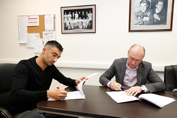Александр САМЕДОВ (слева) и Сергей РОДИОНОВ. Фото spartak.com