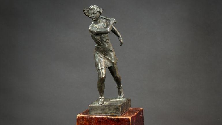 Переходящий приз первенства Москвы по теннису (40-е годы).