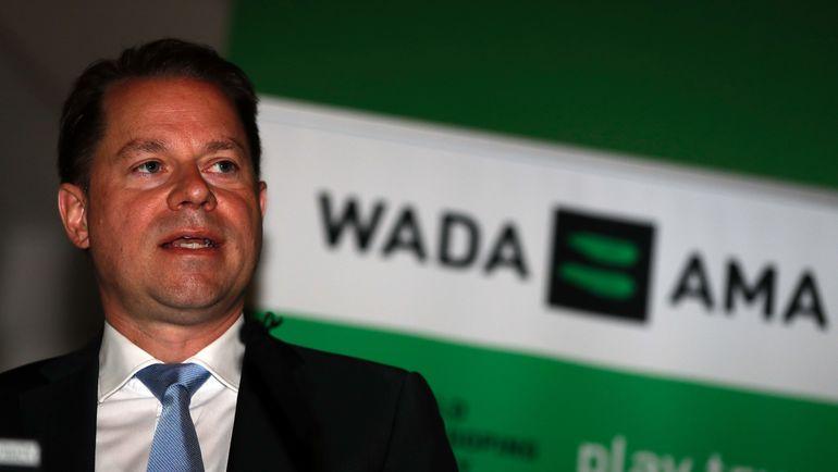 Генеральный директор Всемирного антидопингового агентства Оливье НИГГЛИ. Фото AFP