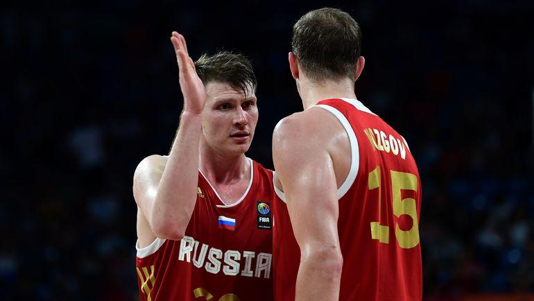 Андрей ВОРОНЦЕВИЧ (слева) и Тимофей МОЗГОВ. Фото AFP