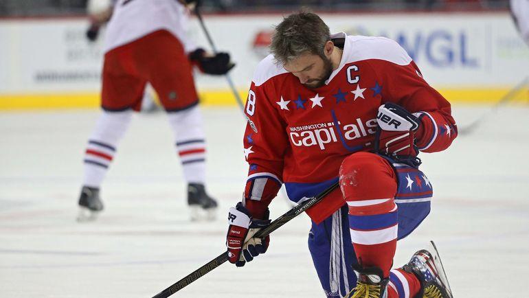 Александр ОВЕЧКИН: сезон без Олимпиады. Фото AFP