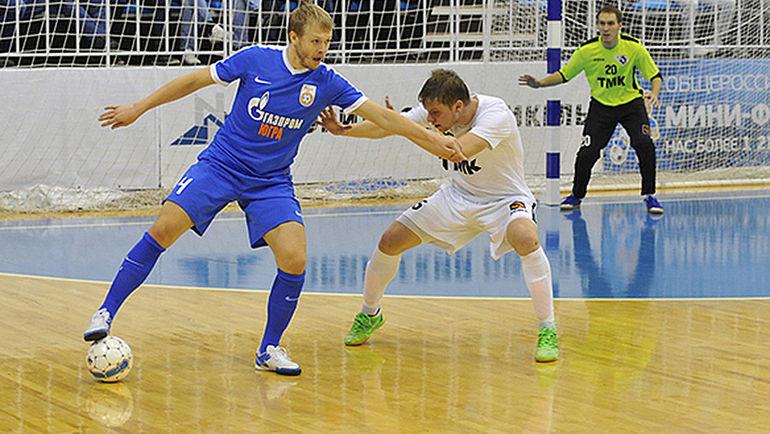 """Суббота. Югорск. """"Газпром-Югра"""" - """"Синара"""" - 3:3. Выявить победителя в этом матче суждено не было."""