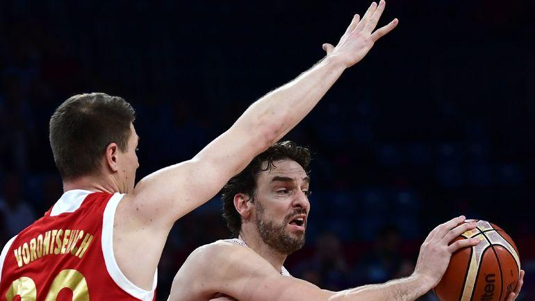 Андрей ВОРОНЦЕВИЧ против Поу ГАЗОЛЯ. Фото AFP
