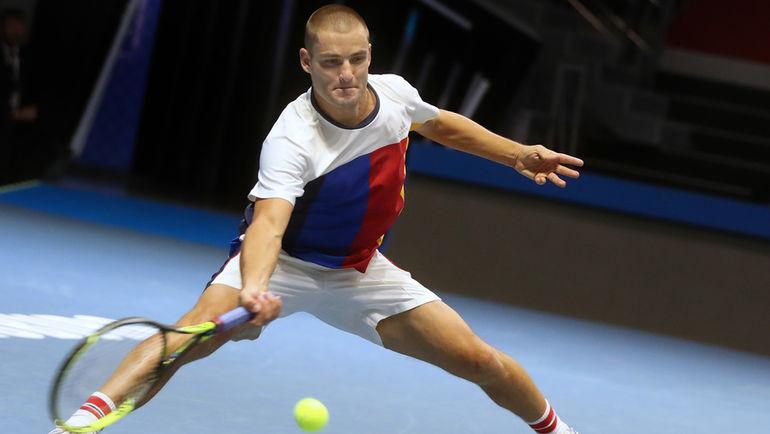 Южный победил Смита впервом раунде St. Petersburg Open