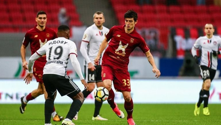 «Амкар» победил «Рубин» вматче 12-го тура РФПЛ