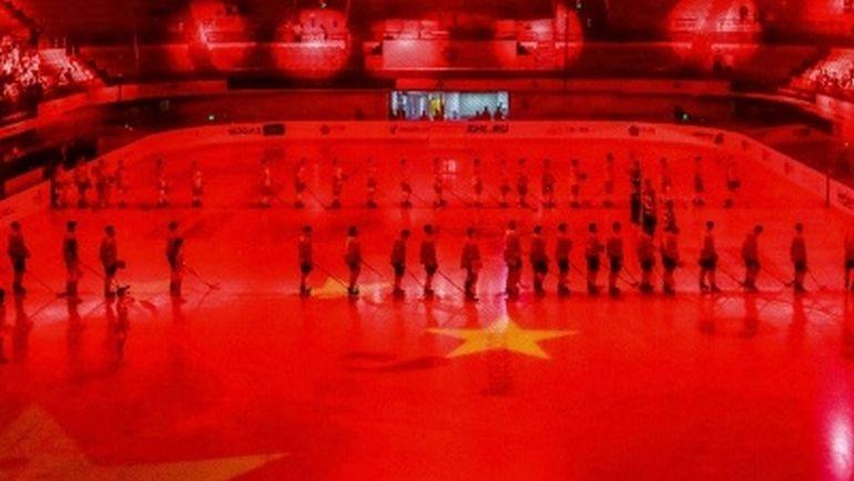 """Куньлунь"" установил антирекорд сезона по посещаемости. Фото ХК ""Куньлунь"""