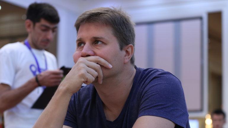 Чемпион России по быстрым шахматам Александр МОТЫЛЕВ. Фото Этери Кублашвили