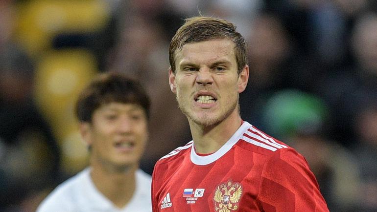 Концовка матча сюжнокорейцами испортила общее впечатление отигры сборной РФ  — Кокорин