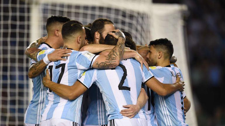 Вторник. Кито. Эквадор - Аргентина - 1:3. Аргентинцы вышли на ЧМ-2018. Фото AFP