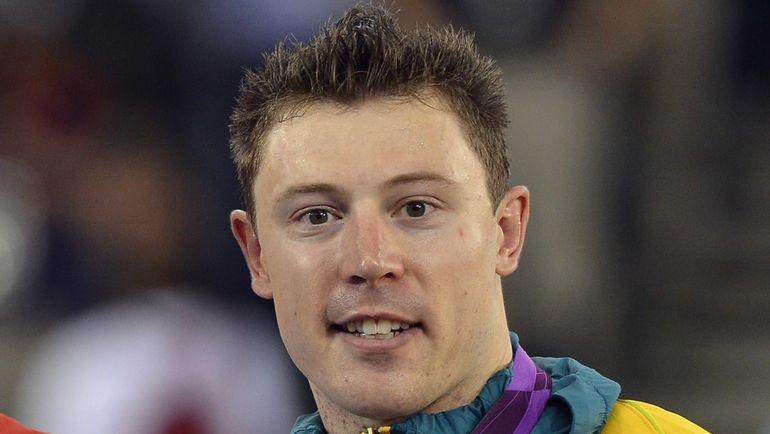 6 августа 2012 года. Лондон. Австралиец Шейн ПЕРКИНС - бронзовый медалист Олимпиады-2012. Фото AFP