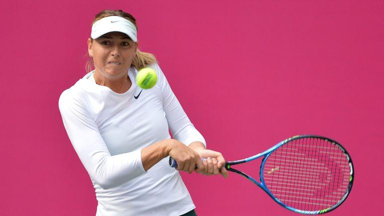 Шарапова пробилась во 2-ой круг теннисного турнира вТяньцзине