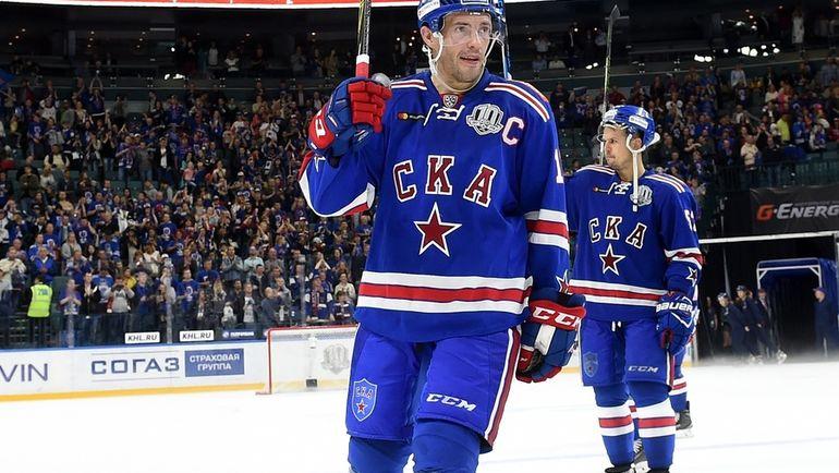 СКА обыграл «Салават Юлаев», победную шайбу забросил Плотников