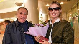 Шарапова в Москве: фото в Инстаграм и встреча с мамой