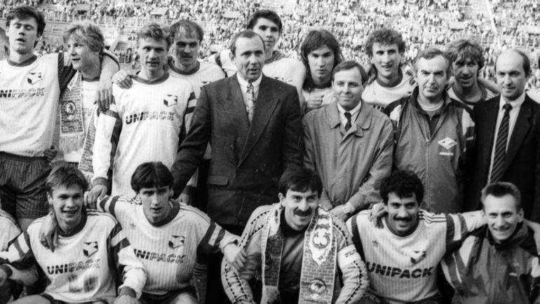 25 лет назад «Спартак» оформил свое первое российское чемпионство