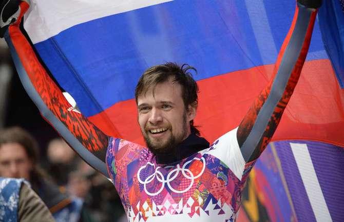 Сегодня. Сочи. Александр ТРЕТЬЯКОВ - олимпийский чемпион Игр-2014! Фото AFP