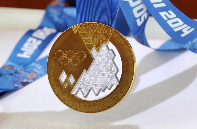 Всего в Сочи сборная России завоевала 13 золотых медалей. Фото REUTERS