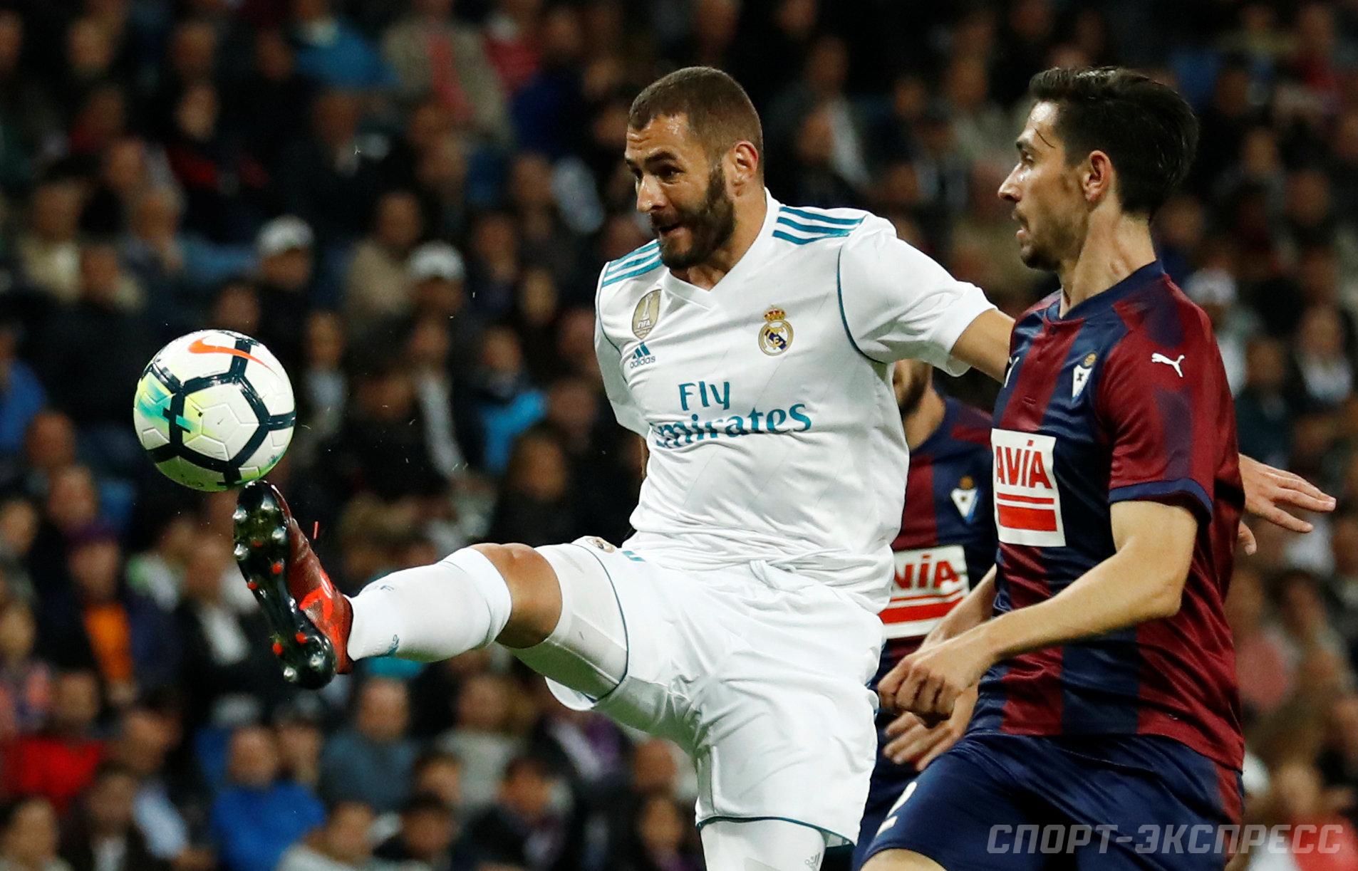 Прогноз на матч Реал Мадрид - Эйбар 22 октября 2017