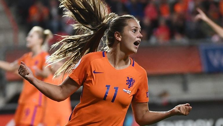 Лике МАРТЕНС - лучшая футболистка мира по версии ФИФА. Фото AFP