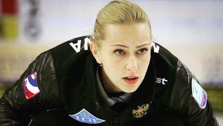 Виктория МОИСЕЕВА. Фото Федерация керлинга России