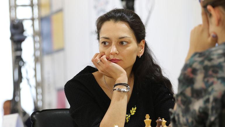 Лидер женской сборной России по шахматам  Александра КОСТЕНЮК. Фото Этери КУБЛАШВИЛИ