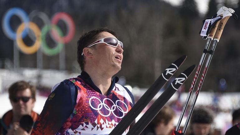 Февраль 2014 года. Сочи. Александр ЛЕГКОВ. Фото AFP