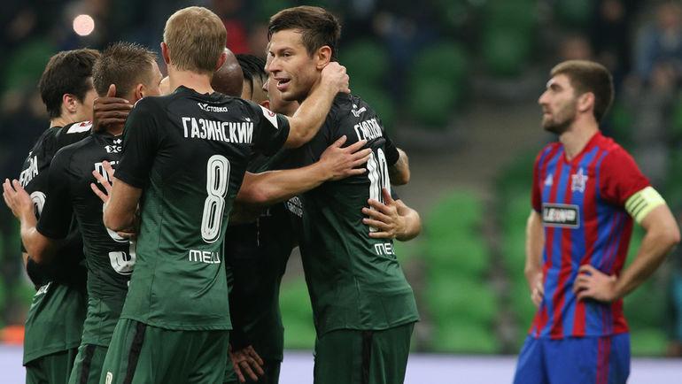 Дубль Смолова помог «Краснодару» разгромить СКА Хабаровск