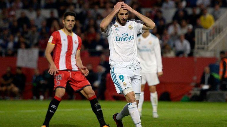 Сегодня. Жирона.'Жирона-'Реал- 2:1. Поражение стало вторым для Карима БЕНЗЕМА и его клуба в чемпионате в нынешнем сезоне