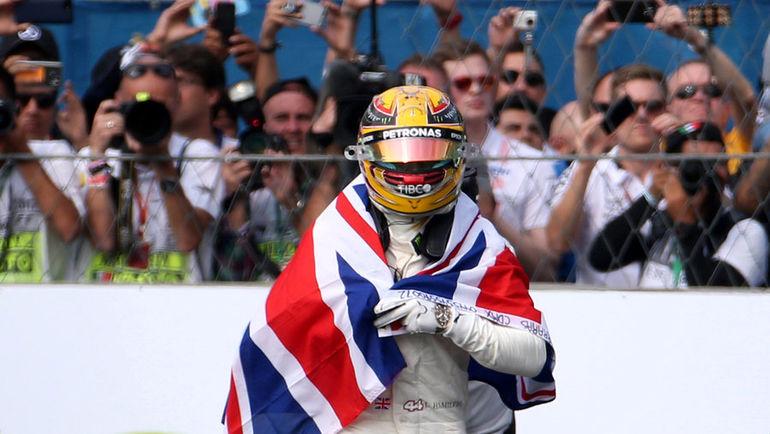 Сегодня. Мехико. Льюис ХЭМИЛТОН - чемпион мира. Фото REUTERS