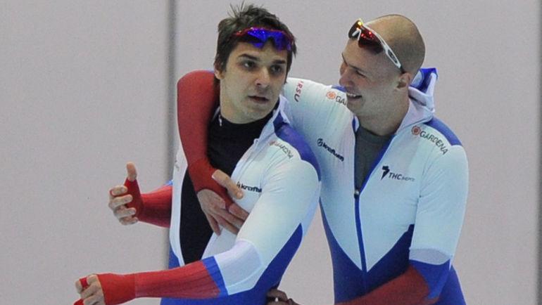 """Руслан МУРАШОВ (слева) и Павел КУЛИЖНИКОВ. Фото Александр ФЕДОРОВ, """"СЭ"""""""