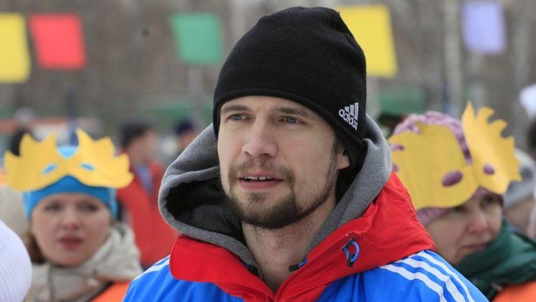 Российский скелетонист Александр ТРЕТЬЯКОВ. Фото AFP