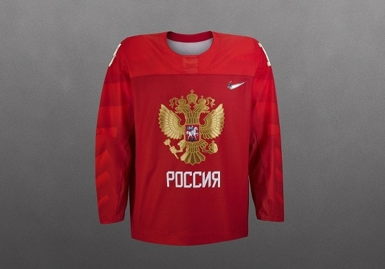 Сборная РФ похоккею представила форму наОИ