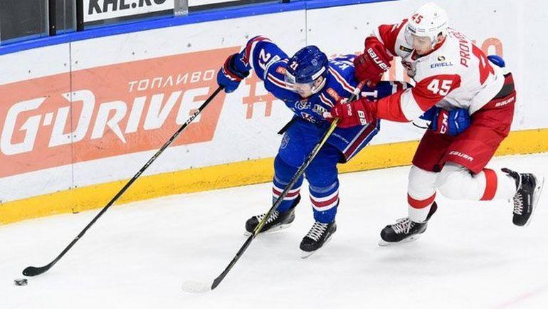 «Спартак» нанес СКА 3-е поражение всезоне ипрервал рекордную серию