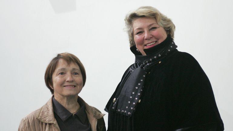 2004 год. Тамара МОСКВИНА и Татьяна ТАРАСОВА. Фото Александр ВИЛЬФ
