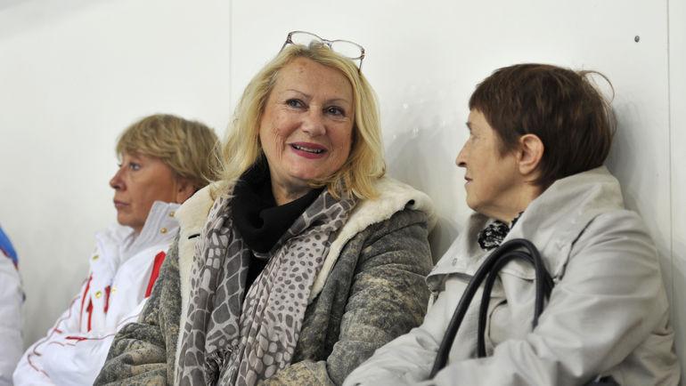 "2011 год. Тамара МОСКВИНА (справа) и Елена ЧАЙКОВСКАЯ. Фото Александр ФЕДОРОВ, ""СЭ"""