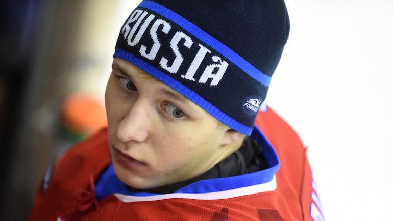 Голкипер Михаил БЕРДИН уже два года выступает   в молодежной американской лиге. Фото Владимир БЕЗЗУБОВ, photo.khl.ru