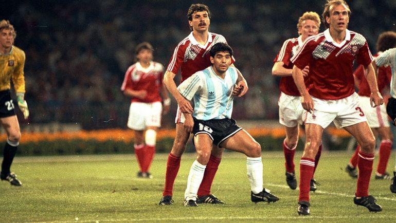 13 июня 1990 года. Неаполь. Аргентина - СССР - 2:0