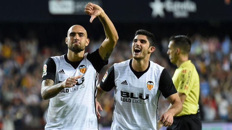 Симоне ДЗАДЗА (слева) воскресил свою карьеру в Испании. Фото AFP