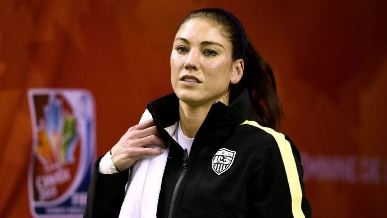 Экс-вратарь женской сборной США Хоуп СОЛО. Фото AFP