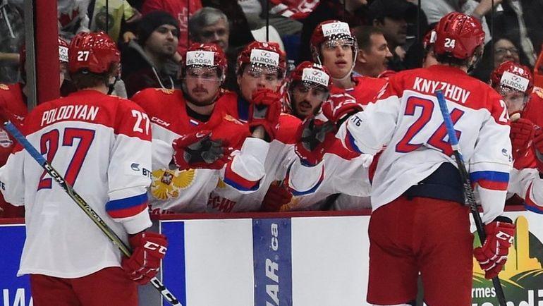 Молодежная сборная Российской Федерации  проиграла команде изКанады вСуперсерии